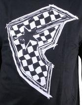 Famous Stars & Straps Mens Black/White Check It BOH Ska Badge of Honor T-Shirt image 3