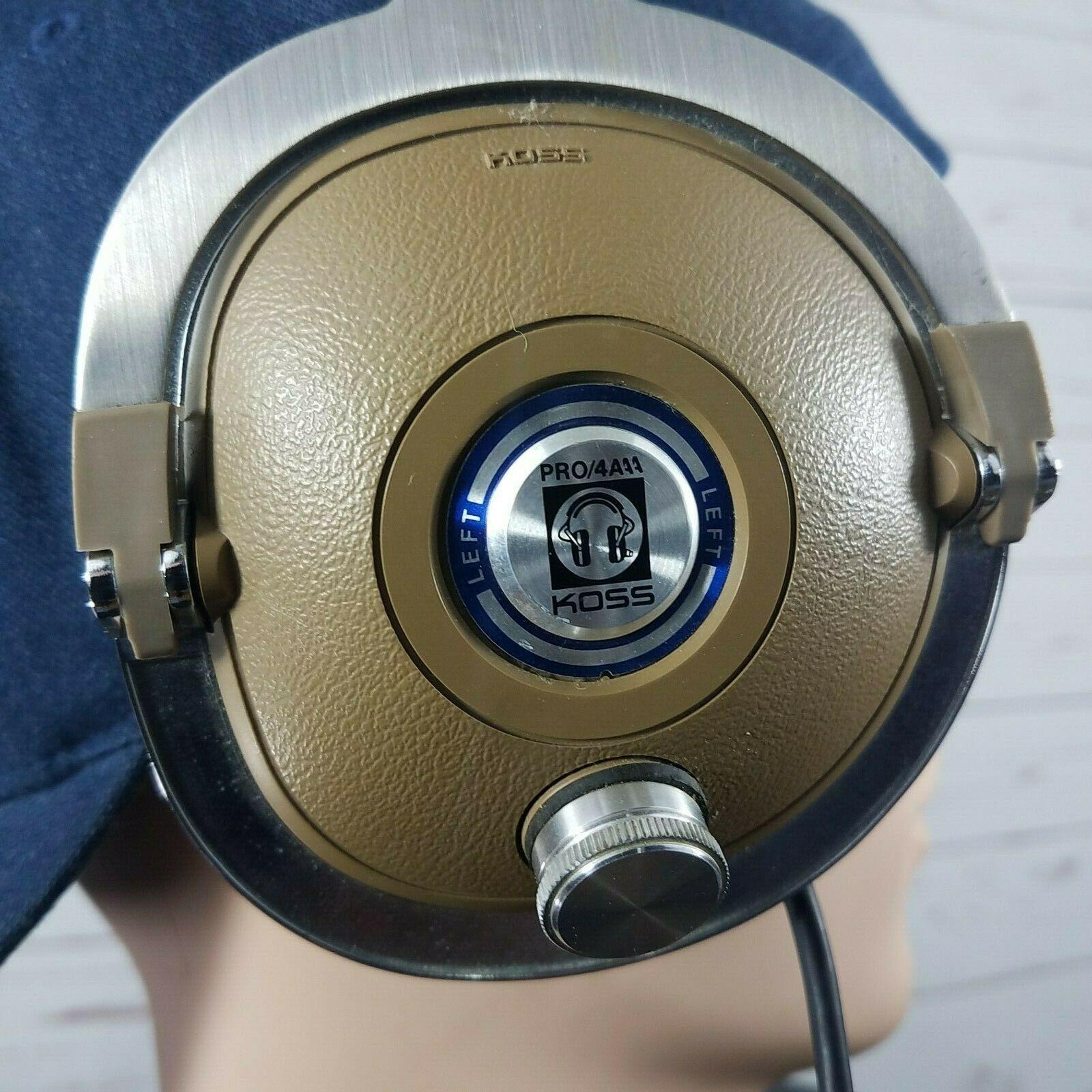 Koss Headset PRO/4AAA Vintage 70s Headphones TESTED!