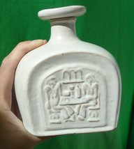 VTG Collectibles Pottery Barware Ceramic Bottle Decanter with Stopper Lid - $22.00