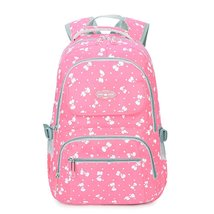 Girls Lightweight School Backpack Cute Bow Kids Book Bag Shoulder School Bag - $29.99