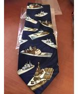 Brand new novelty Ships necktie - $12.50