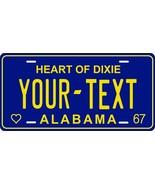 Alabama 1967 License Plate Personalized Custom Car Auto Bike Motorcycle ... - $10.99+