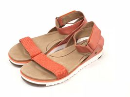Ugg Australia Laddie Women's Ankle Strap Fire Opal Orange Sandal 1015669 Shoes image 10