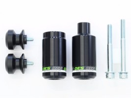 OES Frame Sliders and Swingarm Spools 2016 2017 2019 Kawasaki Ninja ZX10... - $64.99
