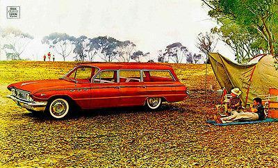 Primary image for 1961 Buick Le Sabre Station Wagon - Promotional Advertising Poster