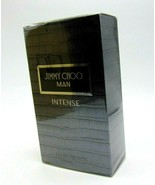 JIMMY CHOO MAN INTENSE Eau De Toilette Spray 3.3oz/100ml NIB - $39.50