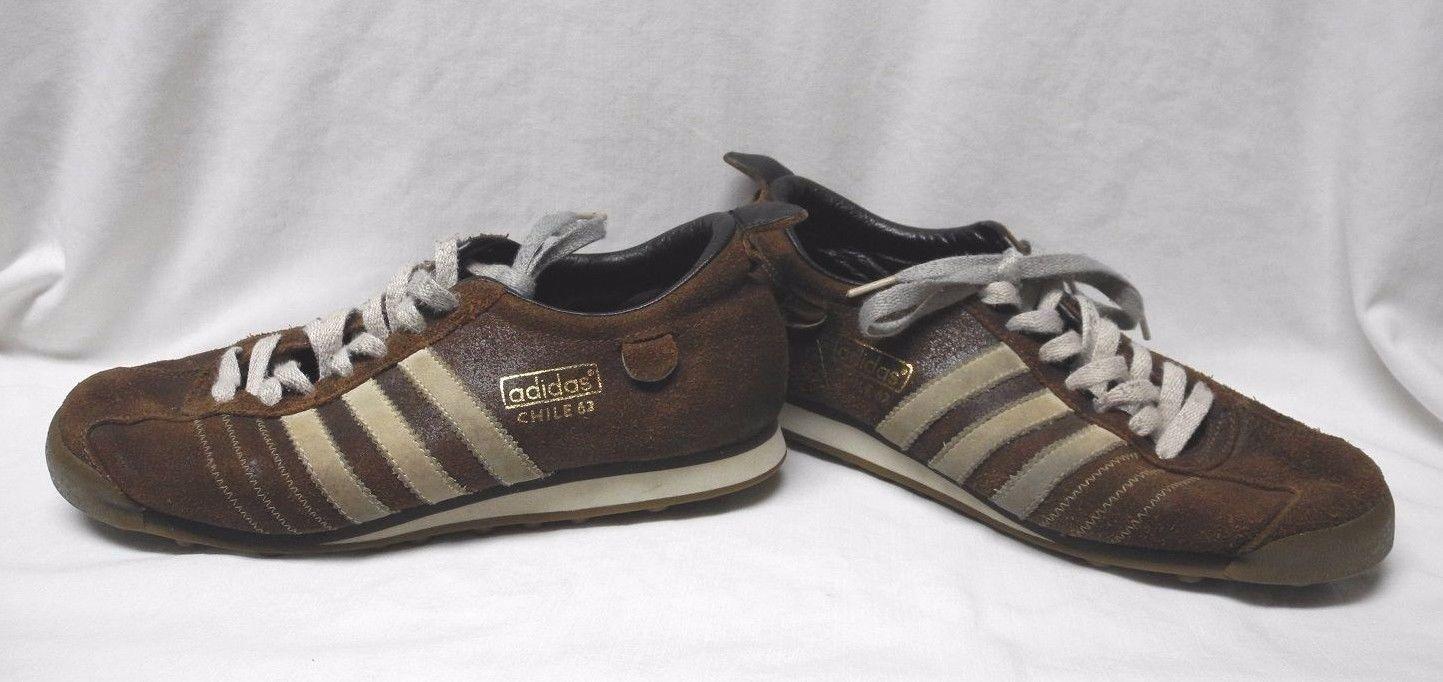 Adidas cile 62 uomini scarpe uk 8 brown e 12 oggetti simili