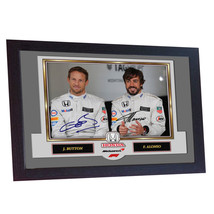 Jenson Button Fernando Alonso signed autograph F1 FERNANDO ALONSO BUTTON... - $20.66