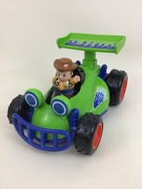 Talking RC Car & Woody Little People Toy Story Fisher Price Figure w/ Ba... - $44.50