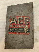 ACE Drillbit Set 5/16 To 1/2 Inch Vintage with Metal Case Tools - $26.77