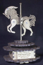 Carousel Music Box- - Personalized   Free Shipping - $97.00