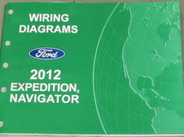 2012 Ford Expedition Navigator Elektrisch Wiring Service Shop Manuell - $11.90