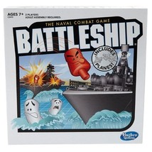 Battleship Game, Classic Strategy, Red & White Pegs Portable Cases Play ... - $27.51