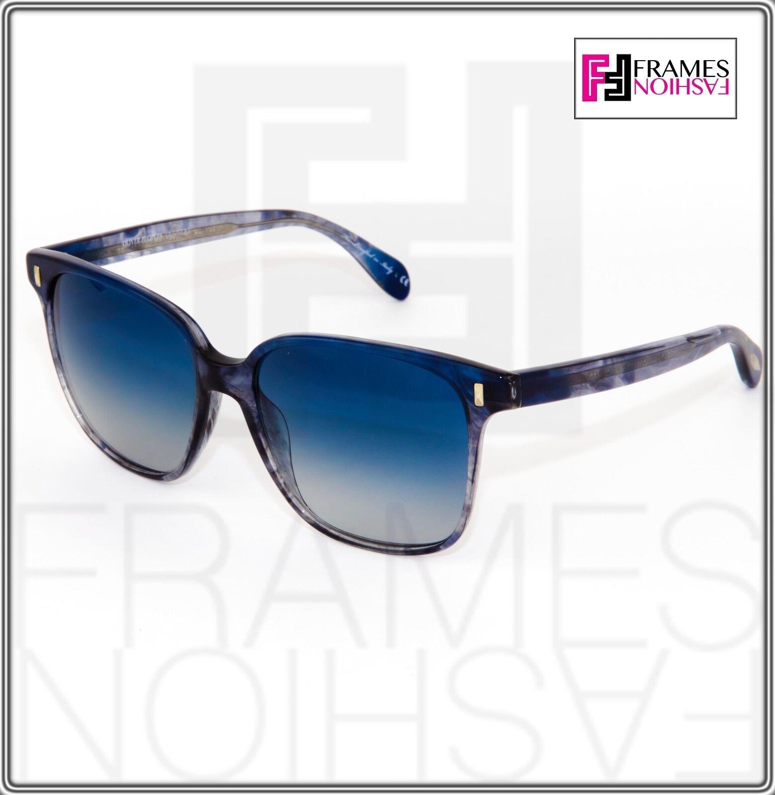 OLIVER PEOPLES MARMOT Square OV5266S Faded Sea Pacific Blue Sunglasses 5266 image 9
