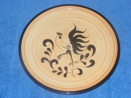 """Pennsbury Pottery Black Rooster 11 1/4"""" Large Dinner Plate Multiple Avai... - $35.00"""