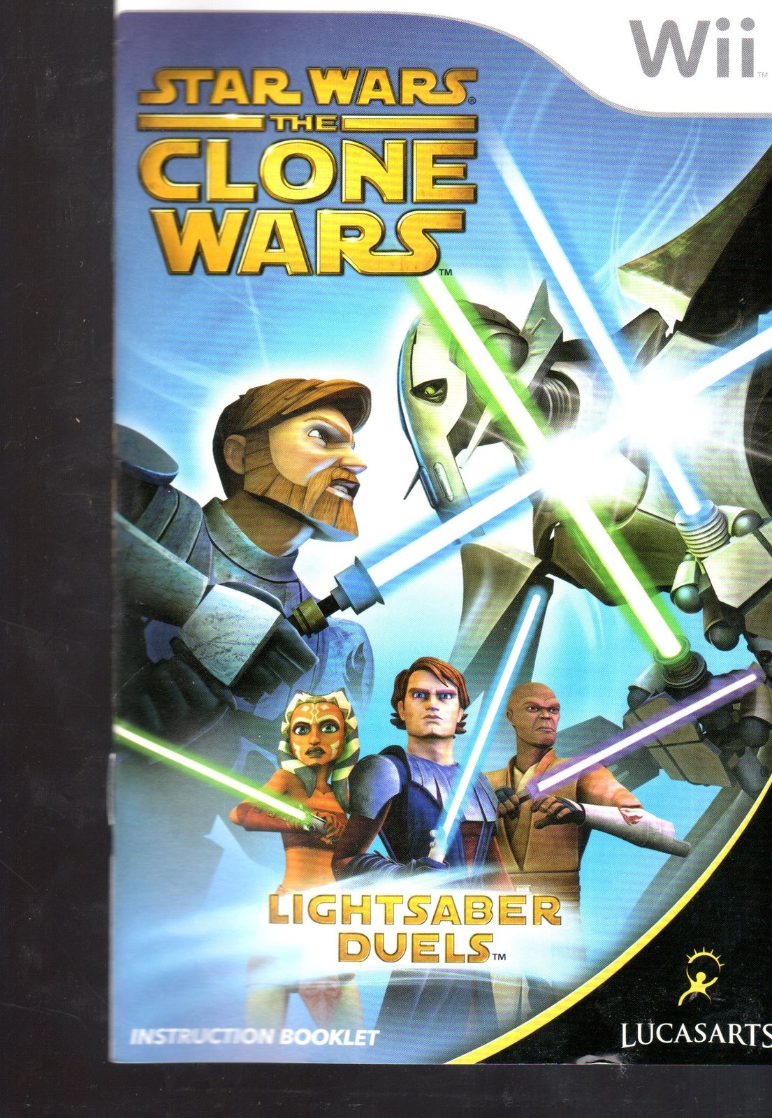 Star Wars The Clone Wars Nintendo Wii