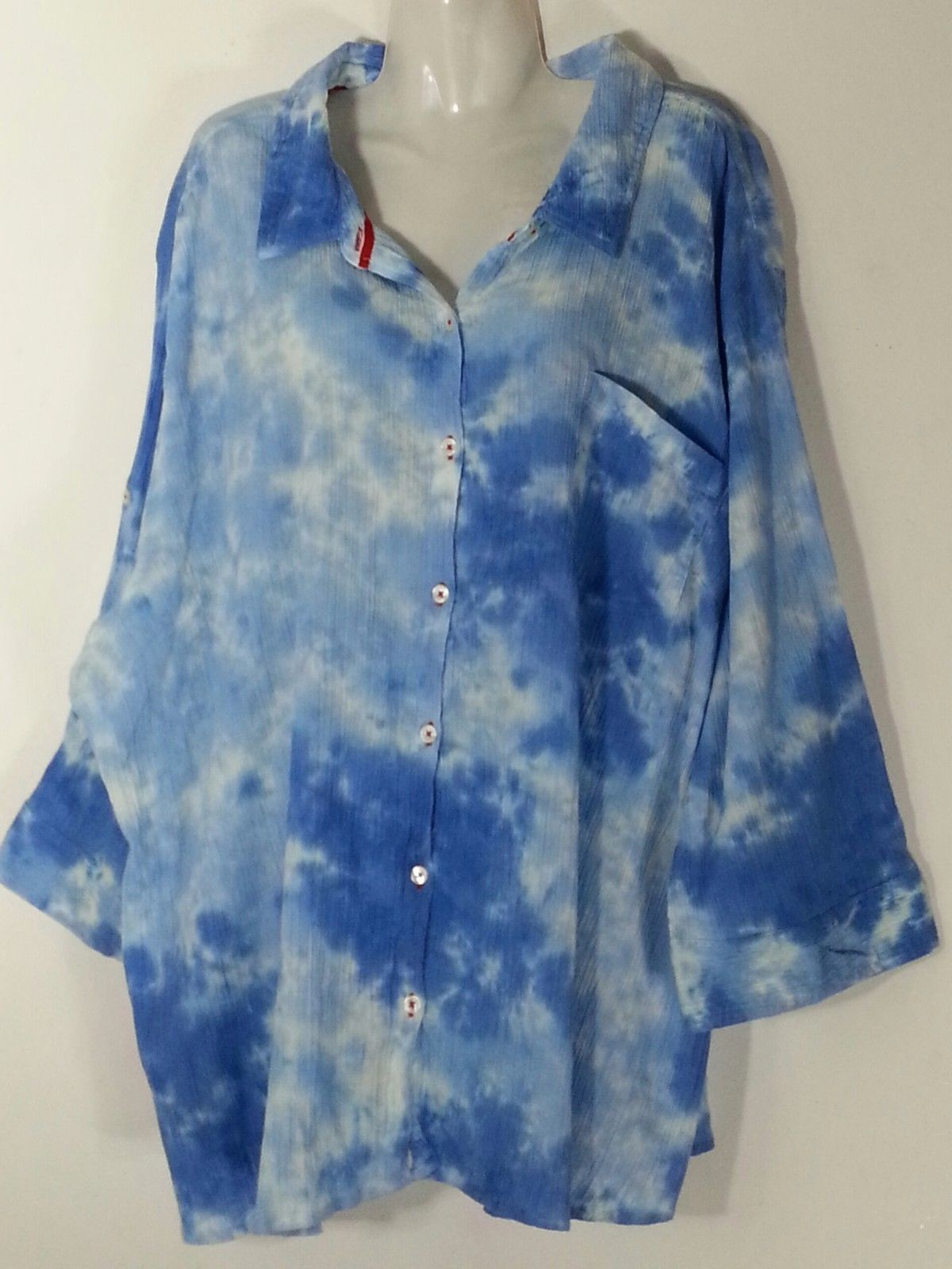 d5bbbfc5ac08e 57. 57. Previous. Catherines Button Down Top Light Blue 2X 22 24 Plus Size  Women s Shirt New