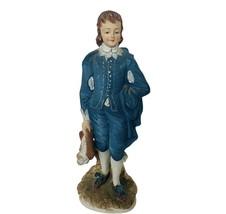 Lefton Figurine vtg Japan Porcelain sculpture Blue Boy Limited Edition d... - $48.33