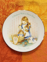 "A Mother's Work is Never Done Avon 1988 Collector Plate 5"" Round - $9.43"
