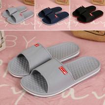 """Men""""s Casual Flat Bath Slippers Summer Sandals Indoor & Outdoor Flip Flo... - $15.30"""