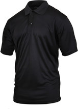 Black Tactical Polo Shirt Moisture Wicking Quick Dry Golf Uniform Top - $20.99+