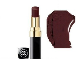 Chanel Rouge Coco Hydrating Sheer Lipshine - 128 Noir Moderne New in Box - $49.99