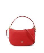 Bolsos de hombro Coach New York Mujer 56819, Rojo/Negro - $271.74