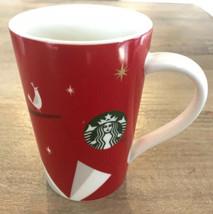 2012 Starbucks Tall Coffee Mug Cup 12 Oz Partridge Tree Christmas Bird - $7.87