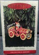 Hallmark Santas Roadster Here Comes Santa Keepsake Christmas Ornament 1995 - $8.42