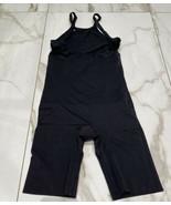 Maidenform Women's Firm Control Open Bust Body Shaper Slip Black Size Small - $14.18