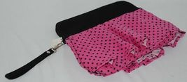 GANZ Brand Hot Pink Black Polka Dots iPad Tablet Skirt Carrying Case image 3