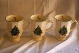 Studio Nova Holiday Season Set Of 3 Mugs - $13.85