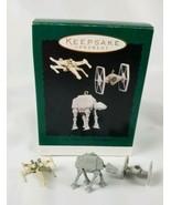 Hallmark Keepsake Ornament Miniature 3 Ornament Set Vehicles of Star War... - $14.80