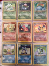 Pokemon Card 1st Complete Set Of Original 151/150 (Base, Jungle, And Fossil Set) - $1,979.01