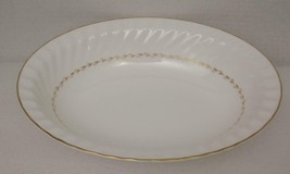 ADRIAN by Royal Doulton China OVAL SERVING VEGETETABLE BOWL H.4816 Gold ... - $38.79