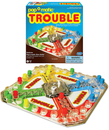 Winning Moves Games Classic Trouble Board Game, 1176 - $19.39