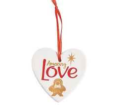Fun Express Christmas Decor - Amazing Love Nativity Ornament - $9.95