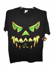 NEW Haunted Face Jack O' Lantern Halloween T-Shirt 2XL, 3XL - $12.99
