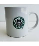 WOW! 2008 Starbucks Siren Mermaid Double Sided Classic Logo 11 oz Coffee... - $20.56