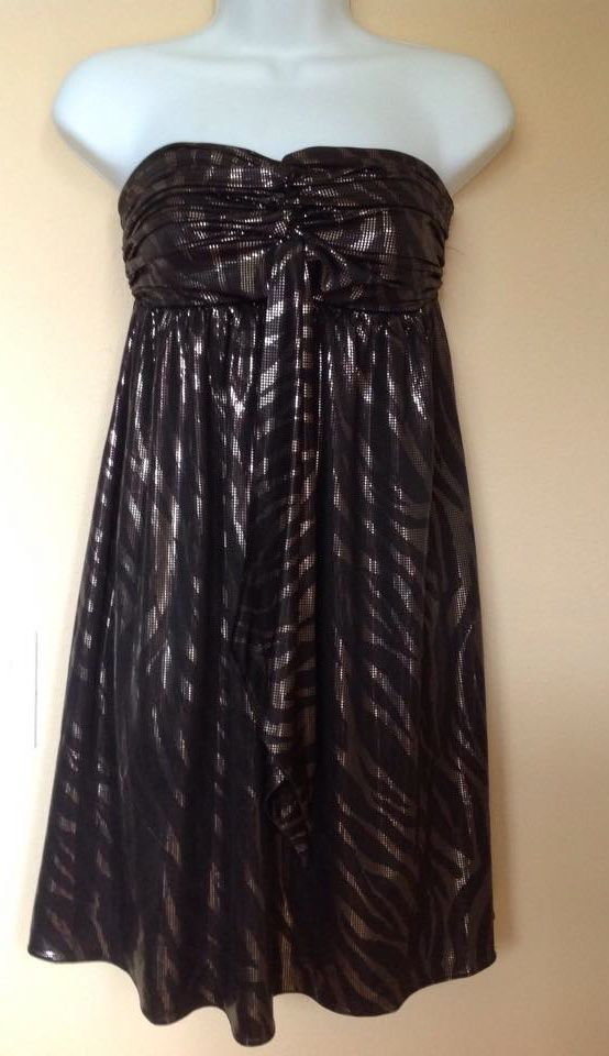 Express Black Dress  size X-small (New with tags) image 2