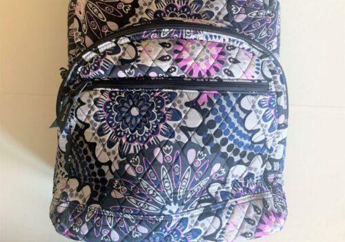 Vera Bradley Essential Large Backpack Laptop Bag ~ Mimosa Medallion Pattern NWT image 6