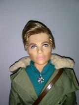 Barbie Ken Doll Steve Trevor Wonder Woman in Green Flight Suit - $20.00