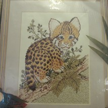 Something Special Baby Ocelot Picture Counted Cross Stitch Kit #50723 New - $29.99