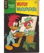 Gold Key Walter Lantz Woody Woodpecker #109 Cartoon Funny Animal Humor - $2.95