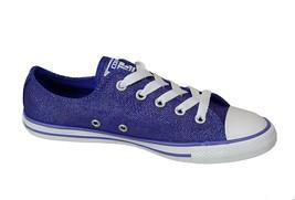 Women Converse Chuck Taylor Dainty Ox Sneaker, 547153F Sizes 6-7 PeriWinkle - $59.95