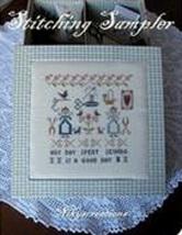 Stitching Sampler cross stitch chart Niky's Creations - $12.60