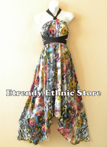 1D089 - Versatile Silk Multi Wear Scarf Long Ma... - $34.90