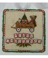 Teddy Express Toys In the Attic cross stitch chart Blackberry Lane - $10.80