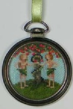 Timeless Garden cross stitch chart Blackberry Lane Designs - $6.00