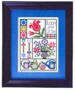 Bloom and Grow cross stitch chart Bobbie G Designs - $7.20